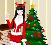 Hra - Vianočná obliekačka