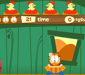 Hra - Garfield a vajcia