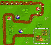 Hra - GardenTD
