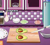 Hra - Sárina lekcie varenia - Kalifornskej rolky