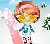 Hra - Snow Sporty Dress Up