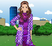 Hra - PurpleFashionDressUp