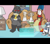 Hra - Simpson STAR WARS