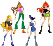 Winx Club Girls Dress up