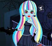 Hra - MonsterHighAbbeyMakeUpandDressUp