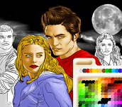 Hra - TwilightOmaľovánka