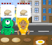 Hra - BurgerJam