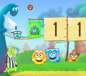 Hra - DinoBasketball