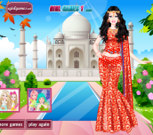 Hra - Barbie Indian Princess Dress Up
