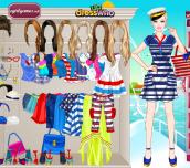 Hra - BarbieNavyStyleDressUp