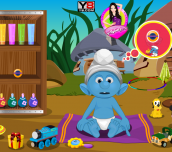 Hra - SmurfsBabyBathing