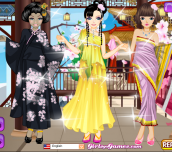 Hra - AsianBeautyDressup