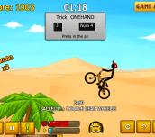Hra - Stickman Freestyle BMX