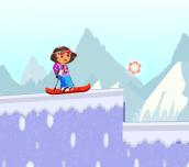 Hra - Dora Ski Jump
