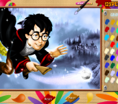 Hra - Harry Potter Online Coloring Page
