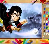 Hra - HarryPotterOnlineColoringPage