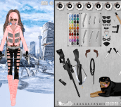 Hra - Action Heroine Creator