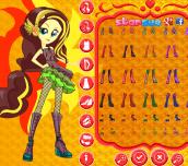 Hra - My Little Pony Rainbow Rocks Sunset Shimmer Dress