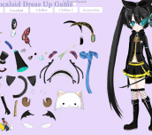 Hra - Vocaloid Dress Up Game