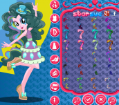 Hra - My Little Pony Rainbow Rocks Pinkie Pie Dress Up