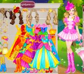 Hra - BarbiesCastleDressUp