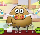 Hra - Pou Nose Doctor