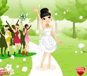 Hra - BrideTossingBouquet