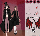 Hra - Vampire Couple Dress Up