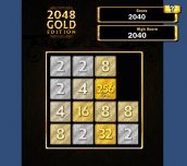 Hra - 2048 Gold Edition