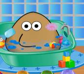Hra - Pou Bathing