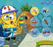 Hra - SpongeBob Crazy Dress Up