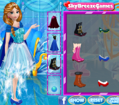 Anna's Princess Gowns