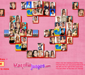Hra - Celebrities Mahjong