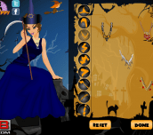 Hra - QueenOfHallowennDressUp