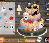 Hra - HalloweenWeddingCake