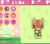 Hra - CuteAnimalsDressUp