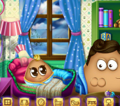 Hra - Pou Has a Baby