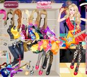 Hra - BarbieRockDivaDressUp
