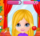Hra - Baby Barbie Christmas Prep