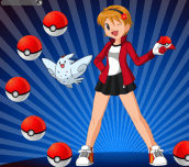 Hra - Pokemon Girl Dress Up