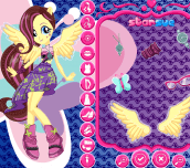 Hra - My Little Pony Fluttershy Rockin' Hairstyle