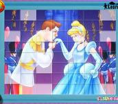 Hra - Cinderella Puzzle