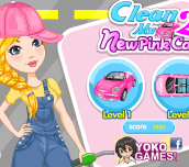Hra - CleanMyNewPinkCar2
