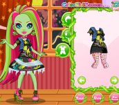 Hra - MonsterHighVenusMcFlytrapMakeup