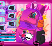 Hra - BackToSchoolMonsterHighBagDesign