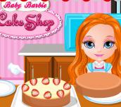 Hra - BabyBarbieCakeShop