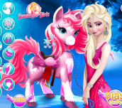 Hra - Elsa Pony Caring