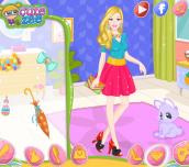 Hra - Barbie Easter Nails Designer