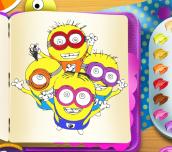Hra - MinionsColoringBook