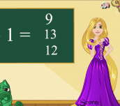 Hra - Rapunzel Math Exam